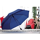 Automatik-Windproof-Taschenschirm Bora, blau