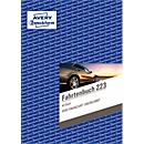 Avery Zweckform Fahrtenbuch Nr. 223