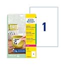 Avery Zweckform weerbestendige folie-etiketten L4775REV-20, 210 x 297 mm, verwijderbaar, wit