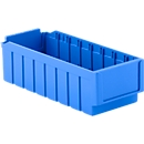 Bac de rayonnage RK 421, 8 compartiments, bleu