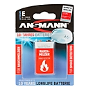 batterijen, voor rookmelder, E-Block, 9 V, 10 jaar opslaggarantie
