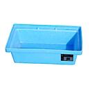 Bauer, PE-lekbakken voor pallets, volume opvangbak 20L, blauw
