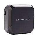 Beschriftungsgerät Brother P-touch CUBE Plus, USB/Bluetooth, 180 x 360 dpi, 20 mm/s, Li-Ionen-Akku, schwarz