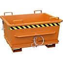 Bodemklepcontainer BKB 500, oranje