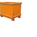 Bodemklepcontainer SB 1000, oranje