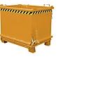 Bodemklepcontainer SB 1500, oranje