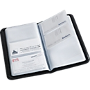 Boek voor visitekaartjespapier, voor 120 visitekaartjes, zwart