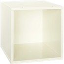 Box für Regal Aura, 368 x 368 x 410 mm, Lack weiß