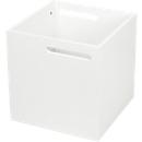 Box Holzbox Berlin, robuste Spanplatte, weiß