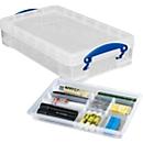 Box, kunststof, Really useful Boxes SET, 4 l + inzet