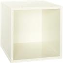 Box voor open kast Aura, 368 x 368 x 410 mm, Lak wit