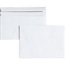 Briefumschläge, DIN C6, ohne Fenster, selbstklebend, 100 Stück