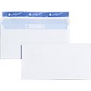 Briefumschläge, DIN lang, ohne Fenster, 500 Stück