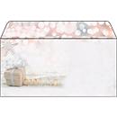 Briefumschlag mit Weihnachtsmotiv Sigel Christmas Surprise, DIN lang, 90g/m², 50 Stück