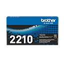 Brother Toner TN-2210, schwarz, original