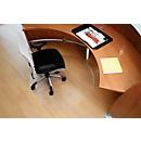 BSM bureaustoelmat vorm C, voor tapijtvloeren, ø600 mm