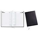 Buchkalender, A4, Werbedruck 100 x 80 mm, schwarz