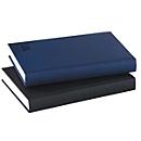 Buchkalender Sidney, 432 Seiten, B 150 x H 210 mm, Werbedruck 100 x 80 mm, anthrazit, Auswahl Werbeanbringung erforderlich