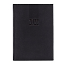 Buchkalender Tucson, 416 Seiten, B 150 x T 30 x H 210 mm, Werbedruck 100 x 80 mm, anthrazit
