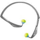 Bügelgehörschutz uvex x-fold, SNR 23 dB, EN 352-1, faltbar, ergonomisch, grau-blau-neonlime, 5 Stück