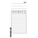 BÜRK Stempelkarte, kodiert, für Zeiterfassungsgerät K875/K895, 200 Stück