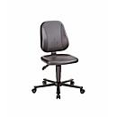 Bureaustoel 9653 ESD, kunstleer, skai zwart