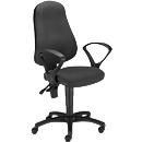 PUNKT ERGO bureaustoel, permanent contact, zonder armleuningen, kuipzitting, in hoogte verstelbaar