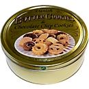 Butter Chocolate Cookies, Buttergebäck nach dänischer Rezeptur, in wiederverschließbarer Metalldose, 500 g