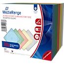 CD/DVD lege hoesjes, onbreekbaar, diverse kleuren, Slimcase, 20 stuks