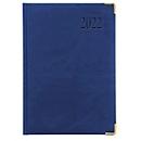 Chefkalender Sidney, ohne Einzelverpackung, 416 Seiten, B 150 x H 210 mm, Werbedruck 100 x 80 mm, blau