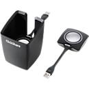 ClickShare Schalterbehälter, für bis zu 4 Schalter, inkl. Knopfschalter 2. Generation, schwarz-grau