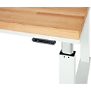Comfortabel bedienelement voor werktafels uit de serie adlatus 300 en 600, met digitale weergave