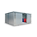 Container-Kombination SAFE TANK 4000, für passive Lagerung