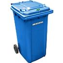 Container voor vertrouwelijke documenten GMT, 240 l, blauw