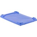 Deckel für Mehrwegbehälter FB 604, blau