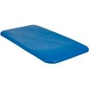 Deckel für Rechteckbehälter, Kunststoff, 450 l, blau