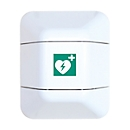 Defibrillatorschrank, B 434 x T 225 x H 528 mm, weiß