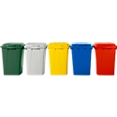 Deksel voor afvalbakken 90 liter, grijs