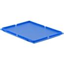 Deksel voor Euronorm bak MF 4120/4170/4220 blauw