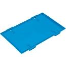 Deksel voor plooibox 600 x 400 mm, blauw
