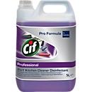 Desinfektionsreiniger Cif Professional 2in1, parfümfrei, EN 1276, 5 l