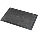 Deurmat Savane, met borsteleffect, B 600 x L 900 mm, wasbaar, grijs