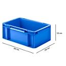 Doos in EURO-maat EF 3120, 4,2 l, blauw