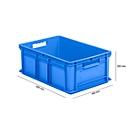 Doos in EURO-maat EF 6220, 43,5 l, blauw
