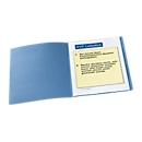 Dossiermap, A4, karton, blauw
