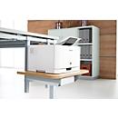 Druckertablar, für Tischsystem MODENA FLEX, lichtgrau