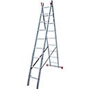 DUBILO multifunctionele ladder, 2 x 9 sporten