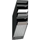 DURABLE folderhouder Flexiboxx 6, 6 vakken, A4, hoog, zwart