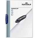 DURABLE Klemmmappe Swingclip, DIN A4, PP, mit Clip, dunkelblau