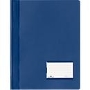 DURABLE Premium-Sichthefter, für DIN A4, Hart-PVC, 25 Stück, dunkelblau